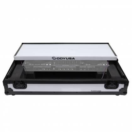 Odyssey FFXGSDDJ1000WBL FX Glide Style DJ Controller Case with 1U Rack Space Product Image 6