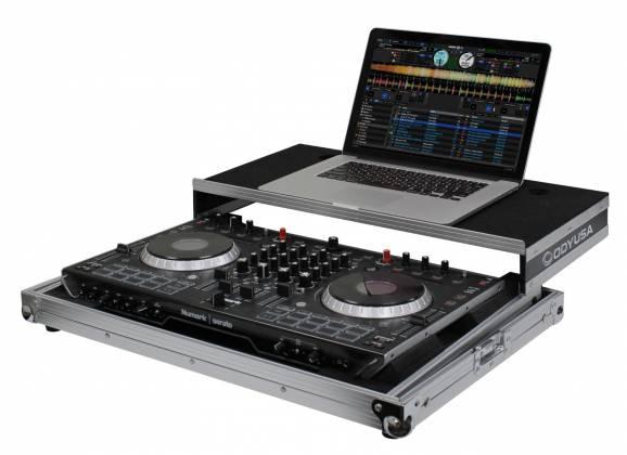 Odyssey FRGSNS6II Flight Ready Low Profile Glide Style Series Numark NS6II DJ Controller Case Product Image 2