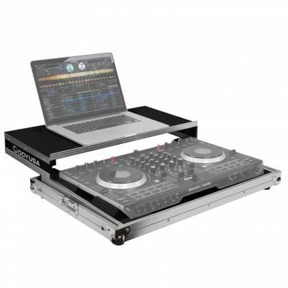 Odyssey FRGSNS6II Flight Ready Low Profile Glide Style Series Numark NS6II DJ Controller Case Product Image 4
