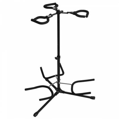 On Stage Stands GS7353B-B Triple Flip-It Guitar Stand Product Image 2