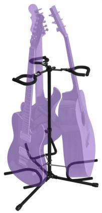 On Stage Stands GS7353B-B Triple Flip-It Guitar Stand Product Image 3