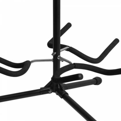On Stage Stands GS7353B-B Triple Flip-It Guitar Stand Product Image 5