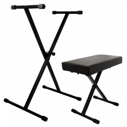 On Stage Stands KPK6500 Keyboard Stand and Bench Pak Product Image 2
