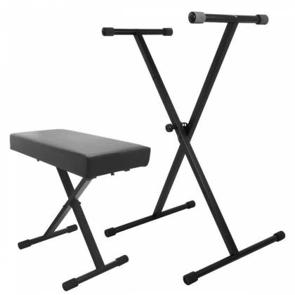 On Stage Stands KPK6500 Keyboard Stand and Bench Pak Product Image 3