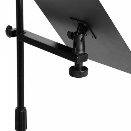 On Stage Stands MSA7011 U-Mount Clamp-On Bookplate Product Image 2
