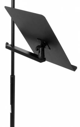 On Stage Stands MSA7011 U-Mount Clamp-On Bookplate Product Image 11
