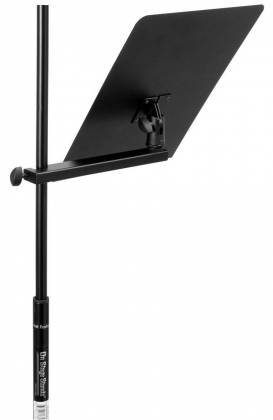 On Stage Stands MSA7011 U-Mount Clamp-On Bookplate Product Image 12