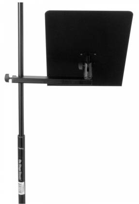 On Stage Stands MSA7011 U-Mount Clamp-On Bookplate Product Image 3