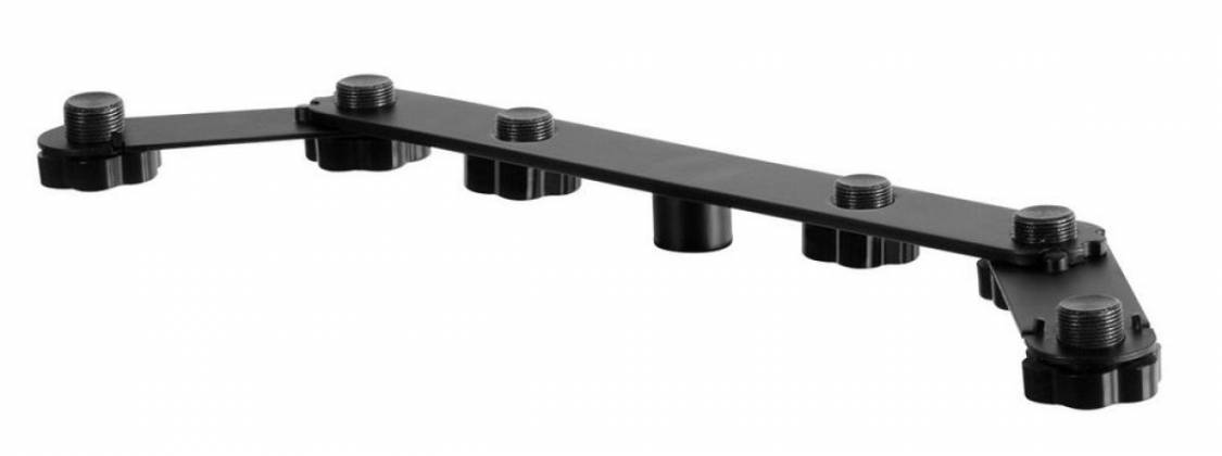 On Stage Stands MY700 Multi-Use Stereo Bar For up to 6 Mics Product Image 2