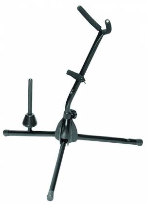 On Stage Stands SXS7101B Alto/Tenor Sax Stand with Flute Peg Product Image 2