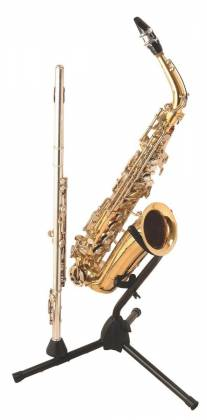 On Stage Stands SXS7101B Alto/Tenor Sax Stand with Flute Peg Product Image 3