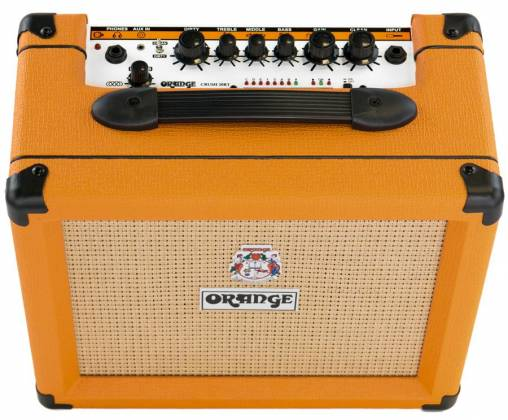 Orange CRUSH 20RT 20W Twin Channel Guitar Amplifier Combo with Reverb & Tuner Product Image 7