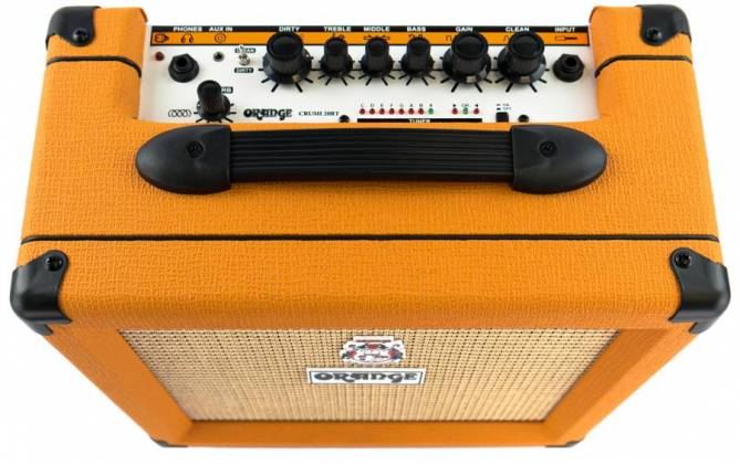 Orange CRUSH 20RT 20W Twin Channel Guitar Amplifier Combo with Reverb & Tuner Product Image 9