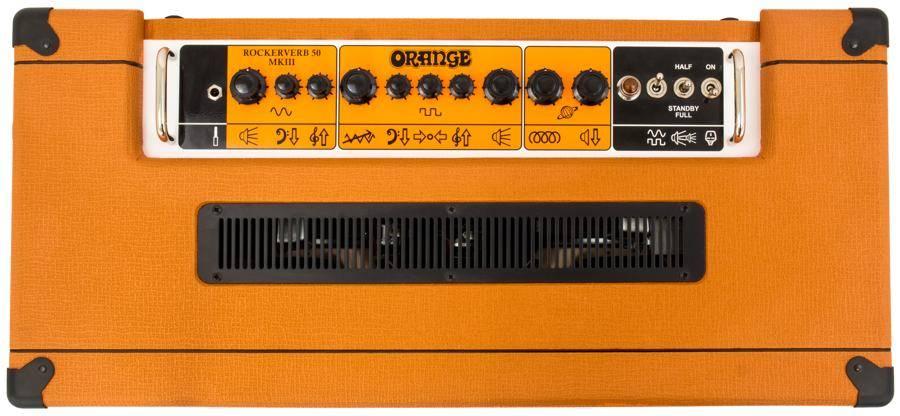 Orange RK50C MKIII 212 Rockerverb MK3 50 Watt 2 Channel 2x12 Combo Guitar Amplifier Product Image 7