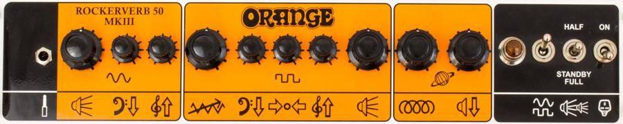 Orange RK50C MKIII 212 Rockerverb MK3 50 Watt 2 Channel 2x12 Combo Guitar Amplifier Product Image 8