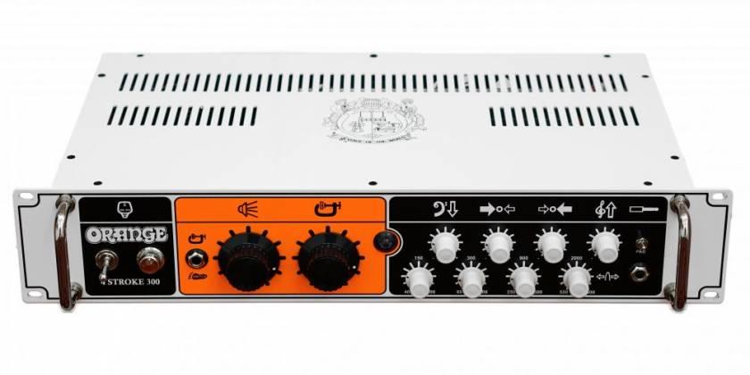 Orange 4 STROKE-300 Rackmount 300W 4 Band Parametric EQ Class A/B Bass Amp Head Product Image 3