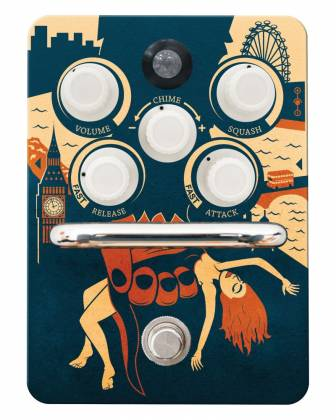 Orange KONGPRESSOR Analogue Class A Compression Pedal Product Image 4