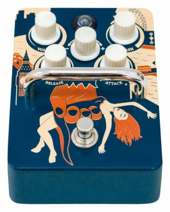 Orange KONGPRESSOR Analogue Class A Compression Pedal Product Image 3