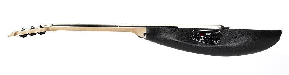 Ovation 1868TX-5 Black Pro Elite Super Shallow 6 String Acoustic RH Electric Guitar 1868-tx-5 Product Image 5