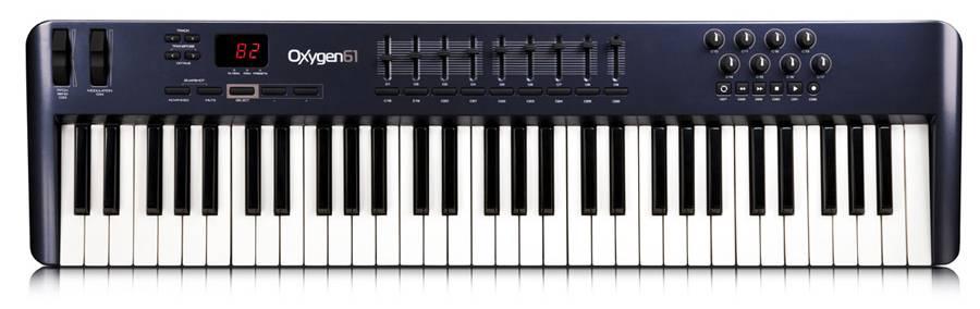 M-Audio Oxygen61 IV 61-Key USB MIDI Controller with Ignite Software