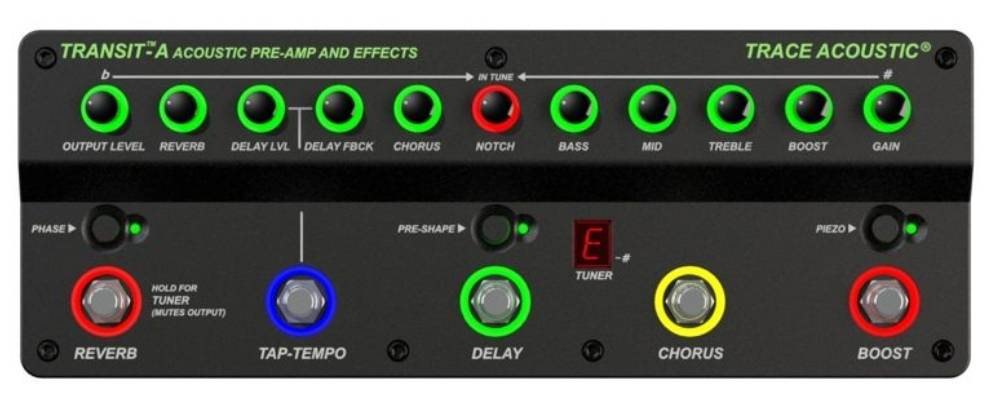 Trace Elliot Transit A Acoustic Preamp Pedal 03616150 Product Image 2