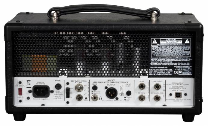 Peavey 03618470 Invective MH Tube Guitar Amplifier Mini Head Product Image 3