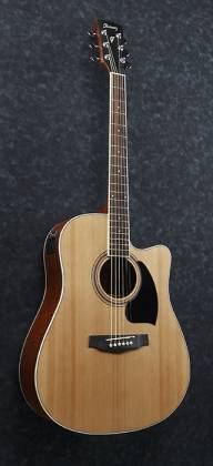 Ibanez PF17ECE-LG-d PF Series 6 String Acoustic Electric Guitar in Natural Low Gloss (discontinued clearance)  (Prior Year Model) Product Image 4
