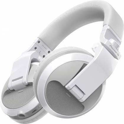 Pioneer DJ HDJ-X5BT-W Over-ear DJ headphones with Bluetooth-Gloss White Product Image 2
