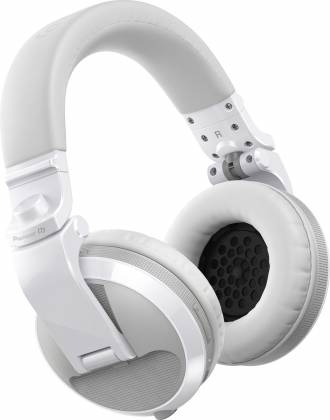 Pioneer DJ HDJ-X5BT-W Over-ear DJ headphones with Bluetooth-Gloss White Product Image