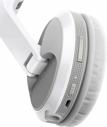 Pioneer DJ HDJ-X5BT-W Over-ear DJ headphones with Bluetooth-Gloss White Product Image 7