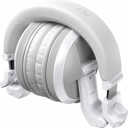 Pioneer DJ HDJ-X5BT-W Over-ear DJ headphones with Bluetooth-Gloss White Product Image 3
