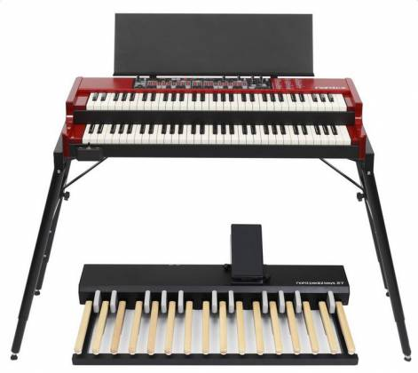 Nord By Clavia PK27 Pedal Keys 27 MIDI Pedalboard with Integrated Swell Pedal Product Image 3