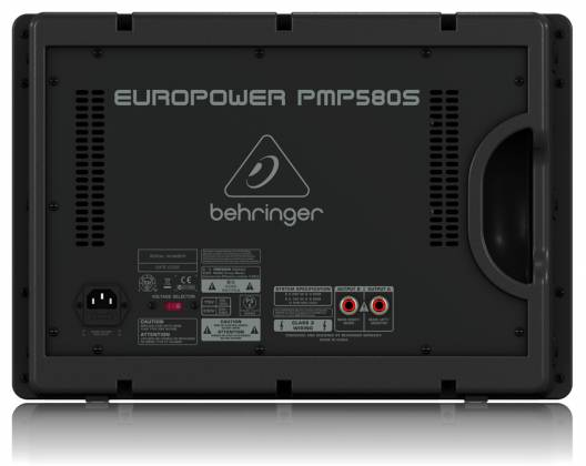Behringer PMP580S Europower Series 500W 10 Channel Powered Mixer with KLARK TEKNIK Multi-FX Processor Product Image 4