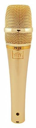 Heil Sound PR22G Dynamic Microphone in Gold Product Image 2