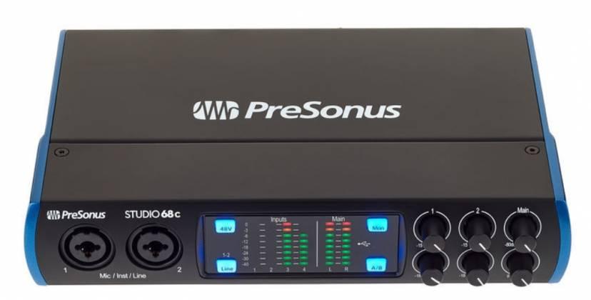 Presonus Studio 68C 6x6 USB-C Audio Interface Product Image 5