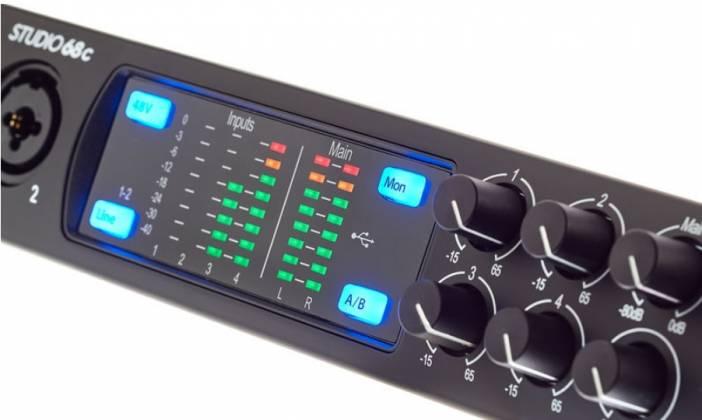 Presonus Studio 68C 6x6 USB-C Audio Interface Product Image 8