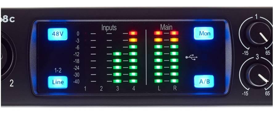 Presonus Studio 68C 6x6 USB-C Audio Interface Product Image 9