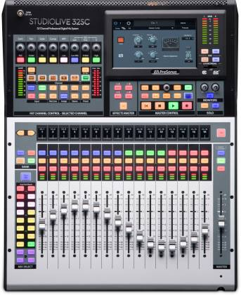 Presonus StudioLive 32SC Series III S 32-Channel Subcompact Digital Mixer Product Image 2