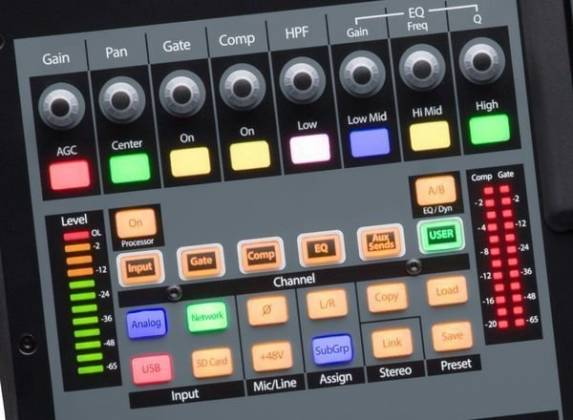 Presonus StudioLive 32SC Series III S 32-Channel Subcompact Digital Mixer Product Image 12