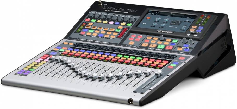 Presonus StudioLive 32SC Series III S 32-Channel Subcompact Digital Mixer Product Image 5