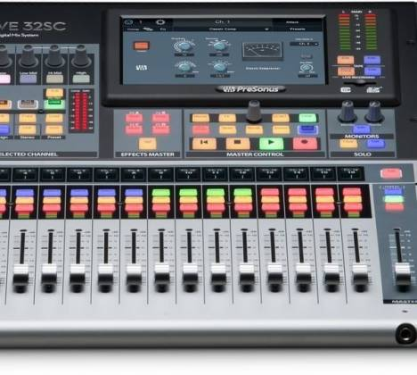 Presonus StudioLive 32SC Series III S 32-Channel Subcompact Digital Mixer Product Image 8