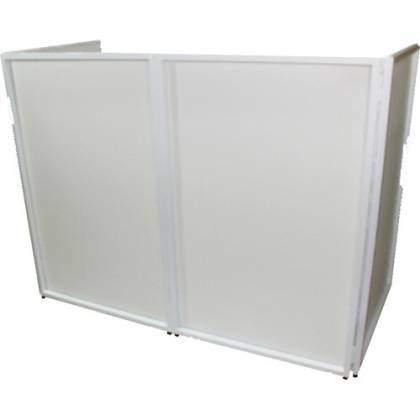 ProX XF-4X3048W DJ Facade 4x White Collapse and Go Facade Panels with Carry Bag and Black & White Scrims Product Image 2