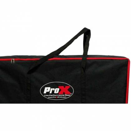 ProX XF-4X3048W DJ Facade 4x White Collapse and Go Facade Panels with Carry Bag and Black & White Scrims Product Image 13