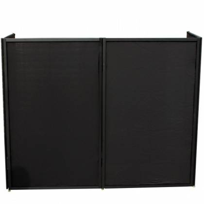 ProX XF-5X3048B Black Frame 5 Panel Pro DJ Facade with Stainless Quick Release 180 Degree Hinges Product Image 7