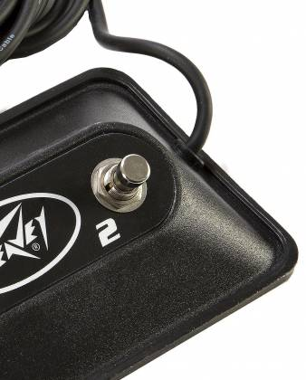 Peavey 03022910 Multi-Purpose 2-Button Footswitch for Bandit and many other  amps Product Image 8