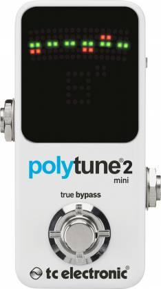 TC Electronic PolyTune 2 Mini Polyphonic Guitar Tuner Product Image 3