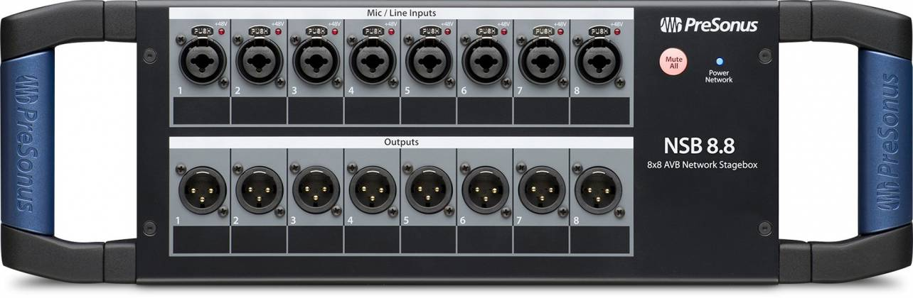Presonus NSB 8.8 AVB 8x8 Stage to Console Networked Stage Box Product Image 2