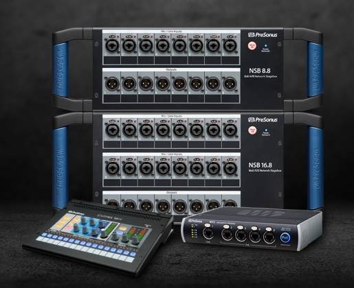 Presonus NSB 8.8 AVB 8x8 Stage to Console Networked Stage Box Product Image 5