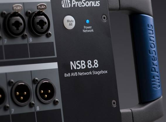 Presonus NSB 8.8 AVB 8x8 Stage to Console Networked Stage Box Product Image 7
