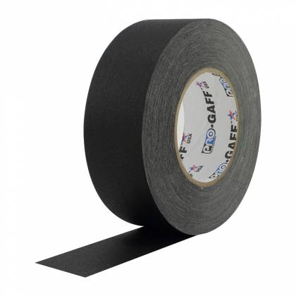 """Pro Tape PRO GAFF 2 BLACK Professional Gaff Tape 2"""" x 55 Yds in Black Product Image 2"""
